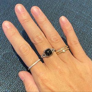 Pandora black vibrant spirit ring